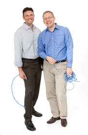Big Switch Networks Co-Founders Kyle Forster, VP of Sales and Marketing, and Guido Appenzeller, CEO