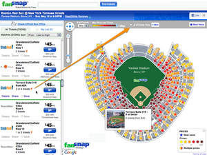 Red Sox -  Yankees eTickets Yankee Stadium | FanSnap