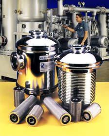 Mass-Vac, MV Vacuum Inlet Traps, vacuum foreline traps