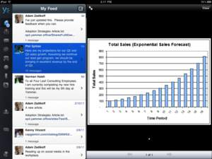 Yammer iPad