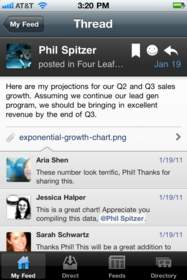 Yammer iPhone