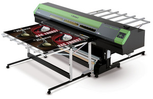 Roland, DGA, VersaUV, LEJ-640, Hybrid, UV-LED, Wide-Format, Inkjet, Printer