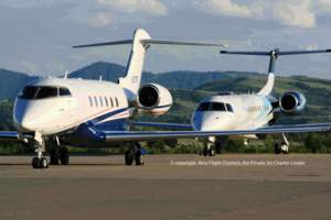 Private Jet Charter Company Large Charter Jets