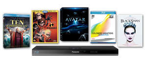 Blu-ray Discs and player being offered as prizes in the Blu-ray a Day in May Giveaway
