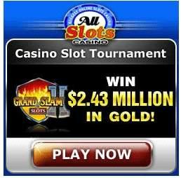 All Slots Casino to present The Grand Slam of Slots II online slot tournament