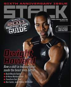 dwight howard, stack media, stack magazine, cover, training