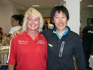 Betsylew Miale-Gix and Yuko Kondo