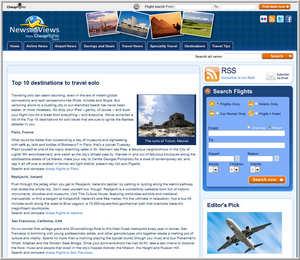 Cheapflights.com's list of Top 10 Destinations to Travel Solo