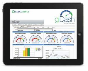giDash from EndoChoice offers busy GI physicians at-a-glance access to key financial and clinical performance metrics.