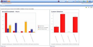Project Management Software Report Dashboard