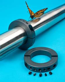 Balancing shaft collar solves shaft vibration problems