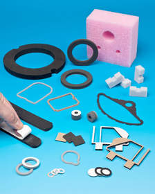 Foam Parts made from open- and closed-cell and sponge foams
