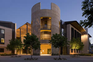 Barnum Tower of William H. Neukom Building at Stanford Law School