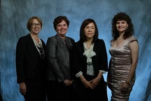 Award Winners Mary Lou Jepsen, Brenda L. Dietrich, Chieko Asakawa, and Karen Panetta