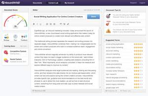 InboundWriter is a social writing application for online content creators.