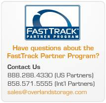 Overland Storage has designed FastTrack to deliver significant benefits for value added resellers (VARs), system integrators (SIs) and solution providers (SPs).