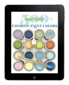 House Beautiful's 500+ Favorite Paint Colors App highlights perfect color combinations, offers editors' picks based on the space, shade, and mood, and a color personality tool to find the best hue for you.