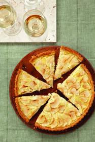 Onion and Apple Tart
