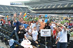 Walk Now for Autism Speaks at Soldier Field