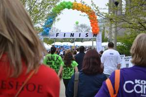 Chicago Walk Now for Autism Speaks finish