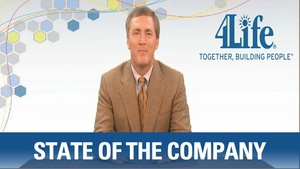 4Life President Steve Tew.