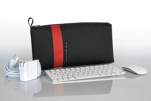 Keyboard Travel Express - Fits the Apple Wireless Keyboard, the power adapter and cord, and the mous