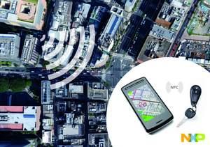 Car finder using NXP KEyLink Lite