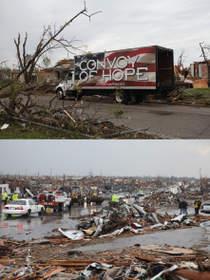 Stanbridge College, fundraising, Convoy of Hope, Joplin, Missouri, community service