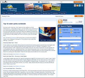 Cheapflights.com Top 10 Water Parks Worldwide