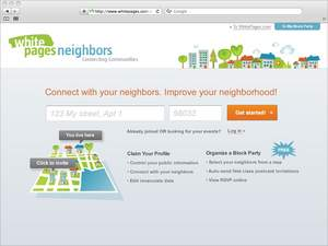 WhitePages, neighbors, National Night Out