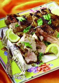 Pork Blade Steak Piccata