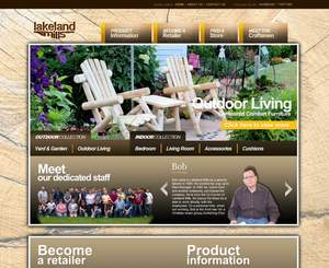 Lakeland Mills new website design's appeal will engage both retail and wholesale visitors.