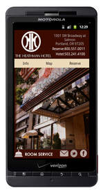 Ascension Software Heathman Hotel Android application