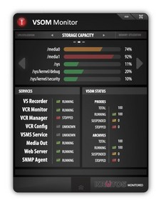 VSOM Monitor: Conveniently monitor Cisco VSOM Servers from the desktop with the free Kratos app.