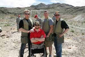 Starkey President part of winning team at NRA Country/ACM Celebrity shoot - wearing SoundGear