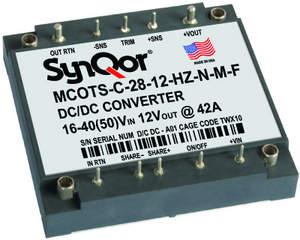 MCOTS-C-28 HZ_DC-DC_military_power_converter