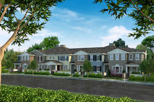 new Tustin townhomes, William Lyon Homes, Villages of Columbus, New OC homes