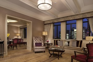 Luxury suites at the Fairmont Peace Hotel, Shanghai