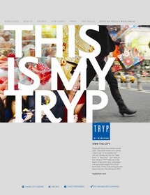 'This is My TRYP' marketing materials