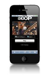 mobile video, QR codes, mobile marketing, basketball