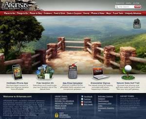 Redesigned Arkansas Tourism Website Unveiled
