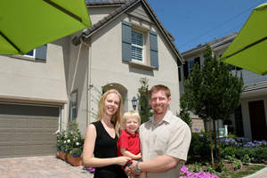 gated new OC homes, William Lyon Homes, Canopy Lane, new South Coast Metro homes