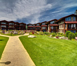 Fourteen units at the Waterside at Flathead Lake Condominium sold at auction on Saturday for $4.5 million by J. P. King Auction Company.