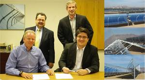 Parabolic Trough Agreement - Braxenergy and SkyFuel