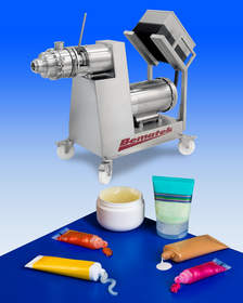 Bematek colloid mill produces a uniform and consistent product
