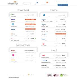 Manilla, account management, saving time, saving money, manilla.com
