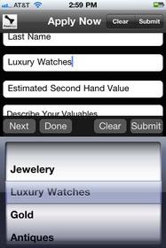 Pawn iPhone App