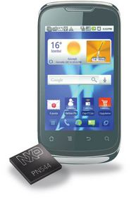 Turkcell T20 with NXP PN544 NFC chip