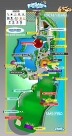 Playground Festival map