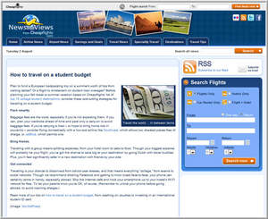 Cheapflights.com Tips on How to Travel on a Student Budget